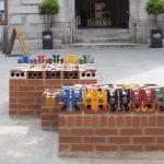 City Ceramic Bench by Maria Gasparian. Photo by City Ceramic Bench, Maria Gasparian. Photo by Agnese Sanvito